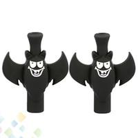 ingrosso fredda e sigarette-Black Bat Drip Tip PVC 510 Drip Tips Nuovo Design Cool Bocchino per RDA RBA Atomizzatore E Sigaretta DHL Free