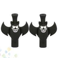 coole e zigaretten großhandel-Black Bat Tropfspitze PVC 510 Tropfspitzen Neues Design Cooles Mundstück für RDA RBA Zerstäuber E Zigarette Dhl-frei