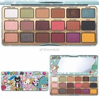 Wholesale Makeup For Girls - 2017 Newest Faced Makeup T- faced Clover Palette A girls Best Friend Eye Shadow 18 Colors Eyeshadow Matte Palette for Eye Cosmetic