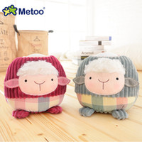 Wholesale Baby Doll Sheep - Metoo Plush Toys with Night Light Function Household Bedside Lamp Baby Child Owl Monkey Sheep Cat Pig Bear Toy Stuffed Doll
