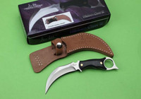 Wholesale united blades - United Hibben Claw UC-120 UC120 Karambit Fixed Blade Knife 5Cr13Mov 57HRC Tactical Camping Hunting Survival Pocket Utility EDC Collection