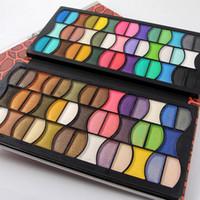Wholesale Multi Colored Eyeshadow - Miss Rose Eyeshadow Makeup Palette 82 Full Color Eye Shadow Professional Multi-Colored Long-Lasting Beauty Eyeshadow DHL