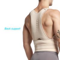 cinturón magnético dolor de espalda al por mayor-Envío gratis Fantásticos Nuevos Hombres Mujeres Postura Magnética Soporte Corrector Volver Cinturón Banda de Protección contra el Dolor Brace Hombro Deporte de Seguridad