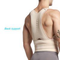 ingrosso sicurezza della cintura posteriore-Spedizione gratuita Fantastic New Women Women postura magnetica supporto correttore cintura posteriore fascia di protezione del dolore cintura brace sport di sicurezza