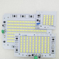 Wholesale Epistar Chip Led Module - LED Light 10w 30w 50w 100w AC 170-240V Driverless 5730SMD Module Chips Integrated Driver LED board for Flood Lamp High Bay Light
