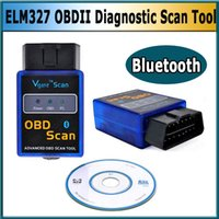 Wholesale Daewoo Scan - Smart Code reader Super mini ELM327 Bluetooth odb2 Scanner ELM 327 Bluetooth Smart Car Diagnostic interface ELM327 V2.1 Scan
