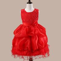 Wholesale Kids Ball Dresses Price - Factory Price Dresses Fashion New Prince Dress Kids Frock Designs Girl Dress Fanc Angel Dress Gift