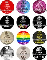 Wholesale Keep Calm Flag - Free shipping KEEP CALM AND CARRY ON glass Snap button Jewelry Charm Popper for Snap Jewelry good quality 12pcs   lot Gl316 jewelry making