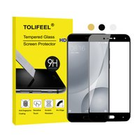 Wholesale 5s full body screen protector online – For Xiaomi Mi5 Mi C S Full Coverage Tempered Glass Film Screen Protector Protective Film Full Cover D