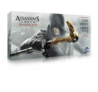 NECA Assassin's Creed Syndicate Sword Cane Cosplay Weapon Jacob Frye Cane Hidden Blade Figurines d'action en PVC Jouets Modèle 90cm Boxed
