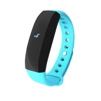 Wholesale v2 android - CUBOT V2 IP65 Bluetooth Wristband Intelligent Reminder Waterproof Anti-lost Alarm Sports Record Smart band for iOS Android sleep monitoring