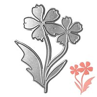 orchid cut flowers - Orchid Flower DIY Metal Cutting Dies Stencil Scrapbook Card Album Paper Embossing Craft