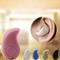 Wholesale Iphone 5c Android - S530 Bluetooth Wireless Headset with Stereo Invisible Headphones for IPhone 7 5 5C 5S 6 6Plus Xiaomi LG Android Smart Phone