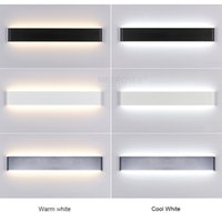 lmparas de pared modernas de cmcm de aluminio largo para el cuarto de bao del living como los apliques de la decoracin luz v lamparas de