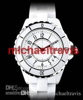 Wholesale Dive Lady Watch - New hot sale Luxury Swiss Brand fashion style womens dive watch white ceramic luxury lady watches japan quartz movement.