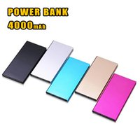Wholesale banking book - 20000Mah Ultra Thin Slim Bank Phone Charger Portable External Battery Polymer Book for iPhone 7 mobile phone Tablet PC with Package