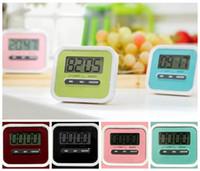 Wholesale Alarm 99 - Kitchen Cooking 99 Minute Digital LCD Alarm Clock Medication Sport Countdown Calculator Kitchen Timers CCA6684 100pcs