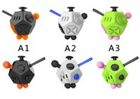 Wholesale Cube World Toys - 2017 New Magic Fidget Cube Generation 2 Toy for Adult World American Desk Toys Adults and Children Decompression Anxiety Toys Gift Free DHL
