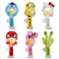 Wholesale Cool Mascot Costumes - Mini Protable Fan Jingle Cat Stitch KT Rabbit wholesale Carton Cute for Mascot Costumes Ventilation Kids Fan Hand Held Summer