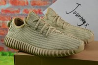 Wholesale High Fashion Discount Shoes - 2017 Wholesale Discount Cheap High Quality Y Boost 350 Y Sneakers Y Kanye Milan West Running Shoes Men Fashion Trainers Shoes With Box