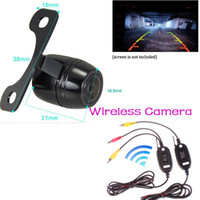 night vision color ccd camera großhandel-Wireless Parking Kit 170 Grad Weitwinkel CCD Nachtsicht Rückfahrkamera Rückfahrkamera Rückfahrkamera