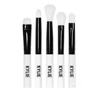 Wholesale Christmas Toothbrush - NEW kylie holiday edition brush Kylie Brush Makeup Brush Toothbrush Powder Concealer Brushes hot Christmas gift DHL free