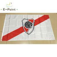 Wholesale River Fly - Argentina River Plate FC 3*5ft (90cm*150cm) Polyester flag Banner decoration flying home & garden flag Festive gifts