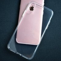 Wholesale Dhl Clear Iphone Case - Crystal Clear Case For iPhone 8 7 6 Ultra Thin High Transparent Soft Gel TPU Case For Samsung Galaxy S8 S7 S6 free shipping by DHL