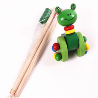 Wholesale Learning Walking Toys - Learn Walking Push Waddling Toys Cute Carton Animas For Babies Toddlers Funny Gift popular free shipping