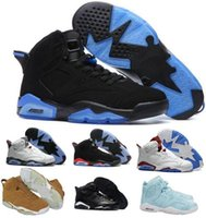 Wholesale Real Leather Basketball Shoes - Best Retro 6 VI Basketball Shoes Women Men's Retros J6s VI Real Replicas Man Retro Shoes Hombre Basket Sneakers