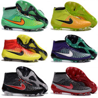 Wholesale China Soccer Cleats - 2016 hot sale Superfly CR7 Soccer shoes many colors football Shoes magista obra ACC Soccer cleats mens sports shoes china free shiping