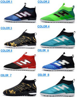 Wholesale tangos shoes for sale - 2017 High Heel ACE PureControl TF Soccer Shoes Football Shoes Outdoor Football Boots ACE Tango Purecontrol IN Soccer Cleats Boots