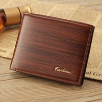 Wholesale Man Wallet Pouch Coin - Wholesale fashion men wallets famous brand Pu leather coin wallet solid short card holder designer purses coin pouch cartera
