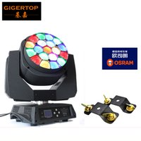 Wholesale Function Sample - Freeshipping Sample Big Bee Eye Led Moving Head Light 19*15W RGBW 4IN1 Color Mixing 450W Osram Led Lamp with Zoom Function DMX TP-L664