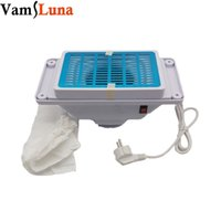 Wholesale Dust Collector Bags - DIY Manicure Desk 25W Nail Dust Suction Collector With 2 Bags And Aluminium Frame Nail Table Component