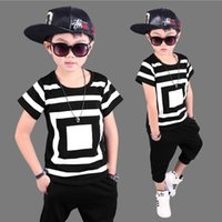 Wholesale 4t Camouflage Clothes - 2017 New Camouflage Kids Clothing Set for Boys&Girls Spring&Autumn Cotton Camo Boys Sports Set Active Girls Clothing Sets