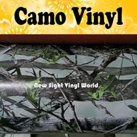 Realtree Camouflage Vinyl Wrap Sheet Realtree Camo Car Film Bubble Free Wraps pour Truck Jeep