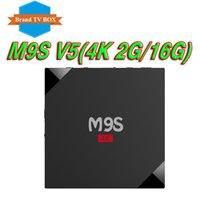 Wholesale Phoenix V5 - 2GB+16GB quad core rk3229 m9s V5 android 6.0 ott tv box pre-loaded KD17.3 phoenix Exodus add-ons better X96 mini S905W T95Z PLUS