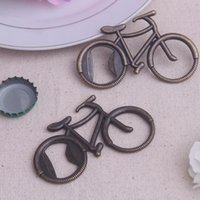 Wholesale r bike - Bicycle Beer Bottle Opener Vintage Metal European Creative Gift Novelty Bike Shape Wedding Party Favor Home Decor 3 8yk F R