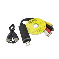 Venda por atacado - Hot Sale Easycap USB 2.0 Easy Cap Vídeo TV DVD VHS DVR Capture Adapter Capa mais fácil USB Video Capture Vedio Capture Device
