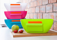 Plastic square plastic bins - Trash Can Originality Garbage Holder Cans Bin Hanging Organizers Storage Box Cupboard Door Desktop Case Belt Scraper Oval Container yh D