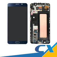 Wholesale Note Assembly - Prime No Dead Pixels For Samsung Galaxy Note 5 N9200 N920T N920A N920I N920G LCD Display +Touch Digitizer Screen Assembly Fast Delivery