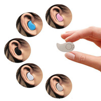2017 S530 Mini fone de ouvido sem fio Bluetooth Estéreo Light Stealth Headphone Earbud com Mic Ultra-small Oculto com caixa para iphone 7