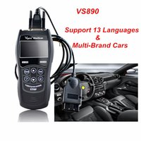Wholesale japanese scanner tool - 2017 HOT OBD2 Car Fault Code Reader VS890 Diagnostic Scanner Multi-language Tool