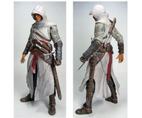 "Wholesale assassins creed figures - NECA Assassins Creed 7"" Assassin's Creed 1 Altair Player PVC Action Figure Toy Free Shipping"