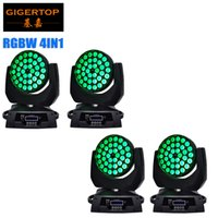 Wholesale Stage 36 - Freeshipping 4pcs lot Professional led stage light 36*10watt RGBW 4IN1 color mixing led moving head wash zoom function CE ROHS