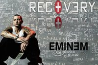 Eminem Posters Cantante Hot Art Silk Poster Prints 03