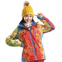 Wholesale Dropshipping Ourdoor New Brand Waterproof Windproof Ski Jacket Winter Sports Skiing Camping Hiking Snowboard ski coat women