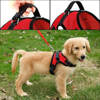 Wholesale safe dogs collars online - ColyBeauty cor Dog Harness Pets Collar Padded Extra Chest Straps with Handle Keeps Your Dog Safe On Walks and Car Rides