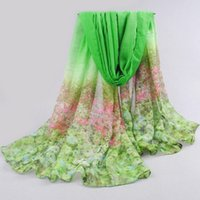 Wholesale Bali Silk Scarves Wholesale - Wholesale-2016 New Special Print Adult Offer Silk Thin Long Design Cotton Scarf Women's Autumn And Winter Bali Yarn Oversized Beach Towel
